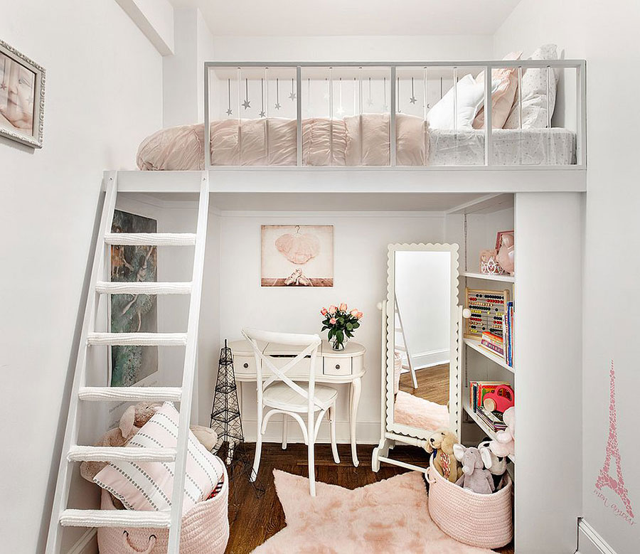 Cameretta per Bambini in Stile Shabby Chic n.23