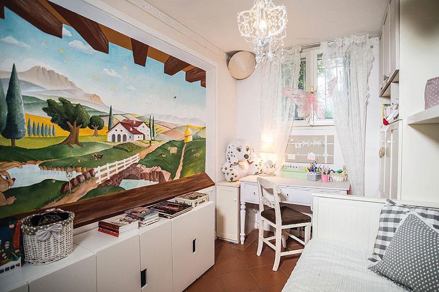 30 camerette per bambini in stile shabby chic for Arredamento bambini