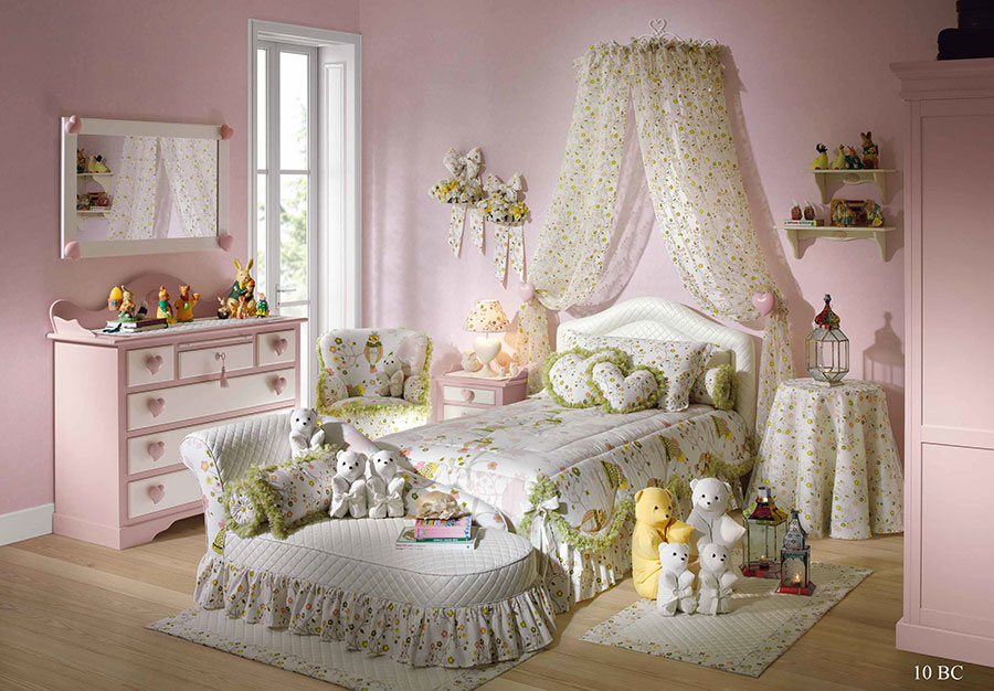 Cameretta per Bambini in Stile Shabby Chic n.30