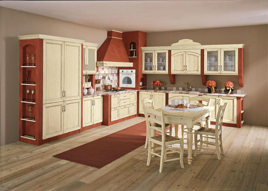 20 cucine in muratura in stile country for Cucine in stile