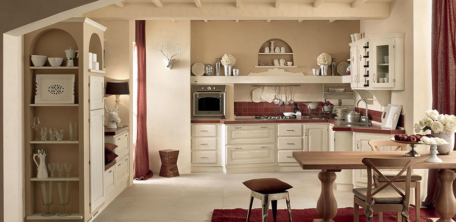 Beautiful Cucine In Muratura Country Chic Images - Ideas & Design ...