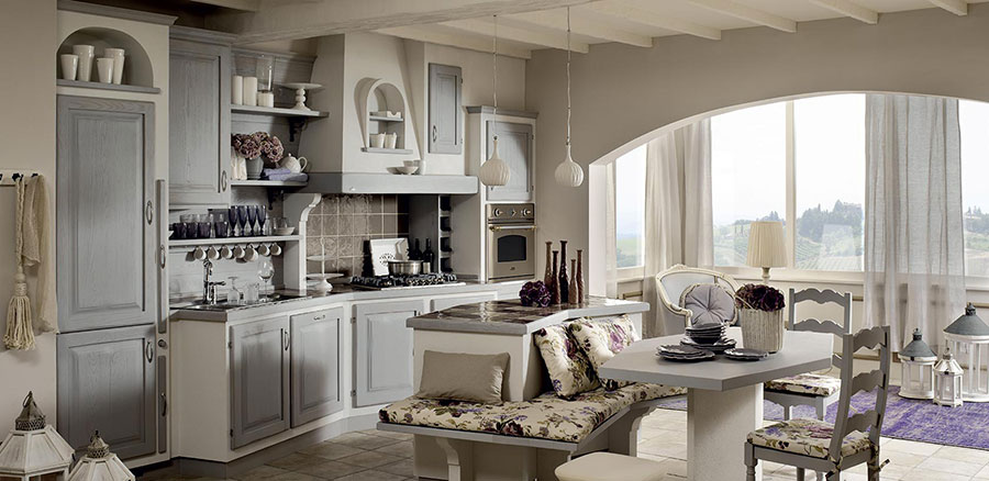 20 Cucine in Muratura in Stile Country | MondoDesign.it