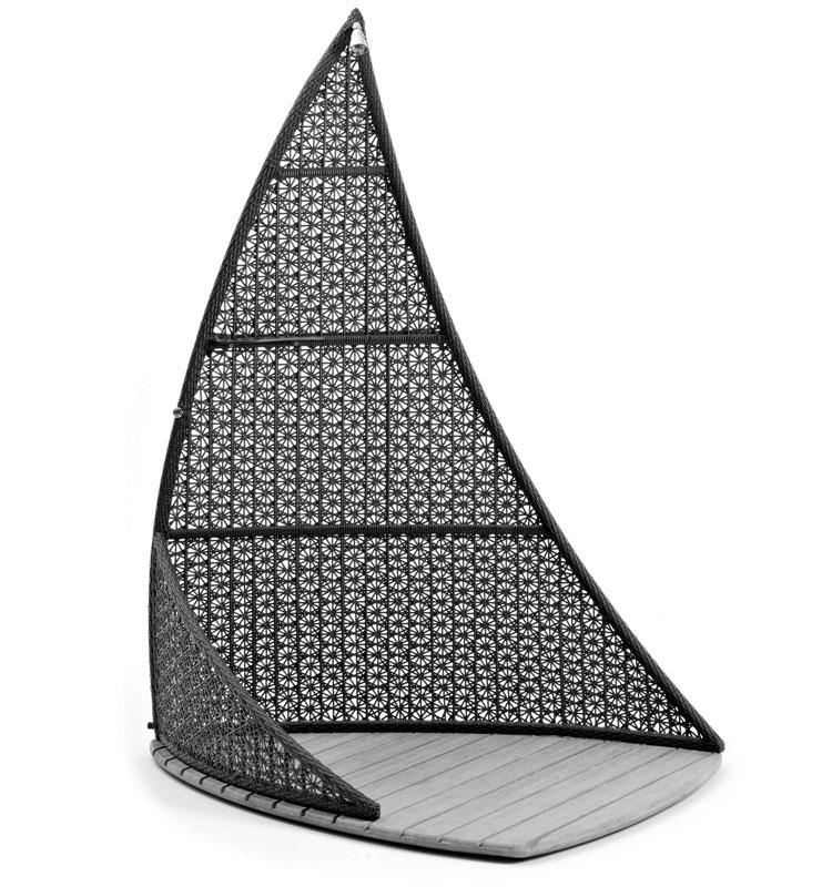 Modello di doccia da giardino dal design particolare n.10