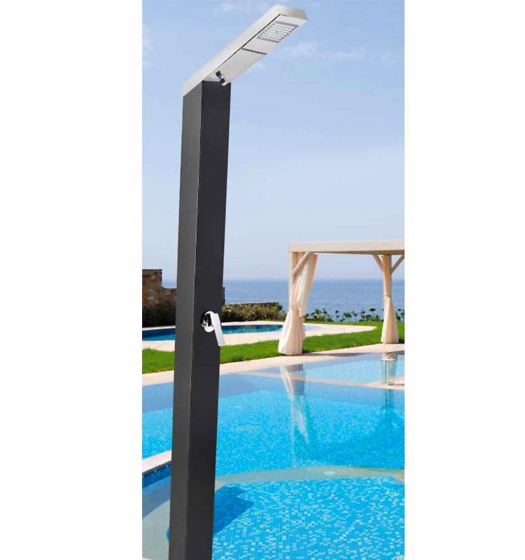 Modello di doccia da giardino dal design particolare n.12