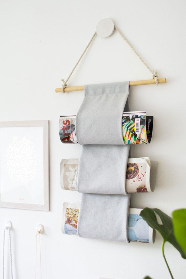 Portariviste fai da te 20 bellissime idee creative - Idee casa fai da te ...