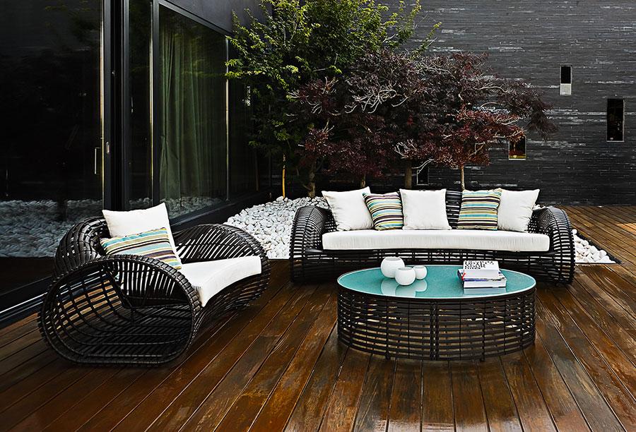 Idee per abbellire un terrazzo con elementi di arredo n.6