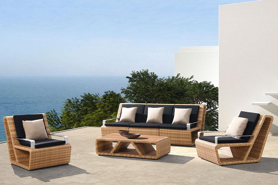 Idee per abbellire un terrazzo con elementi di arredo n.7
