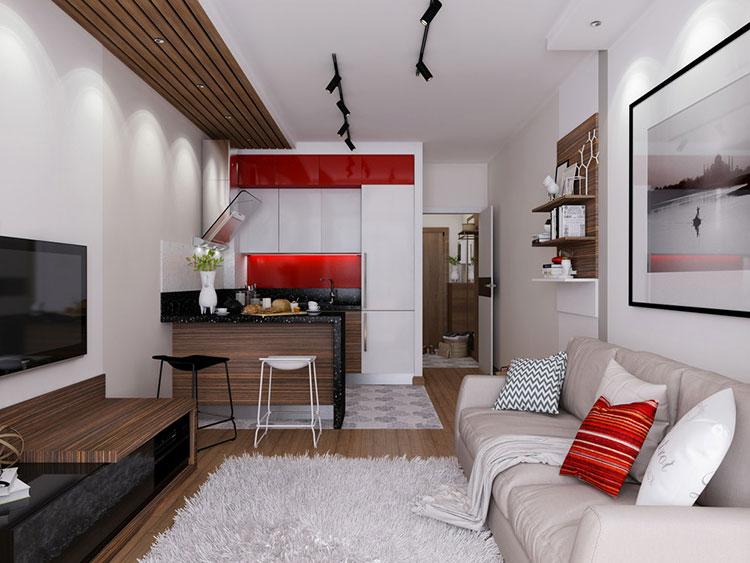Famoso Emejing Cucine Per Miniappartamenti Images - Ideas & Design 2017  NM46