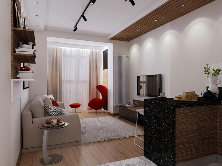 Come arredare un monolocale 10 bellissime idee for Arredamenti case bellissime