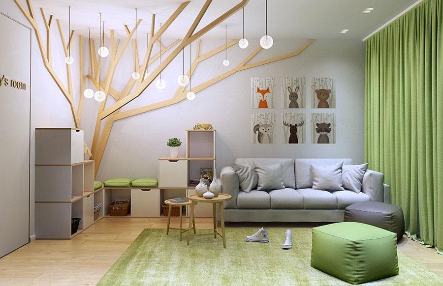 Decorare Pareti Cameretta Bambini : Decorazioni pareti camerette bambini decorare la cameretta