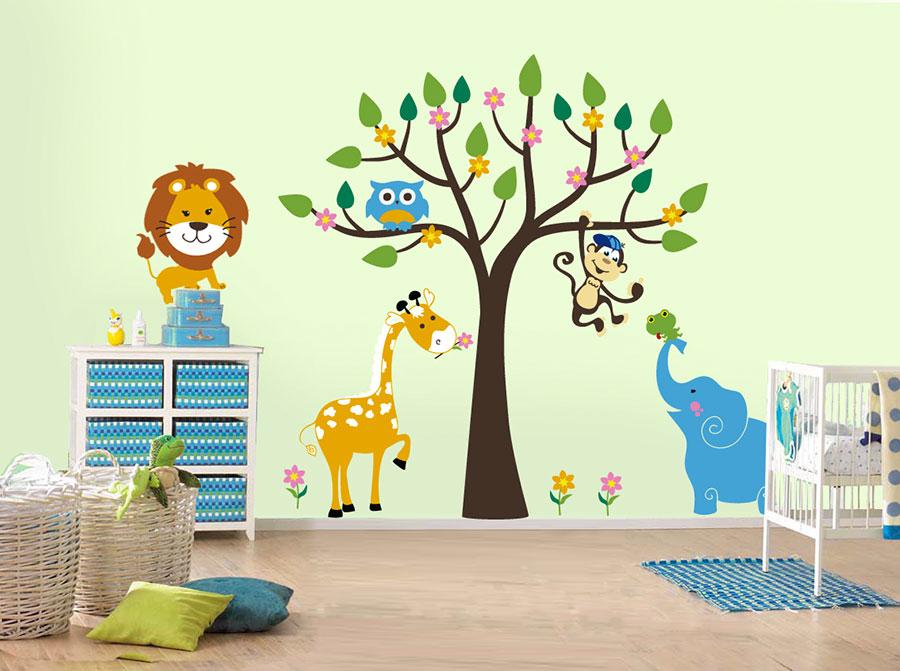 Decorazioni murali per camerette n.23