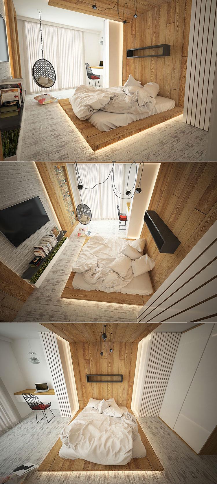 Illuminazione camera da letto 25 soluzioni molto originali - Illuminare la camera da letto ...