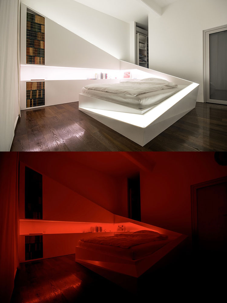 Idea per illuminare la camere da letto in maniera originale n.02