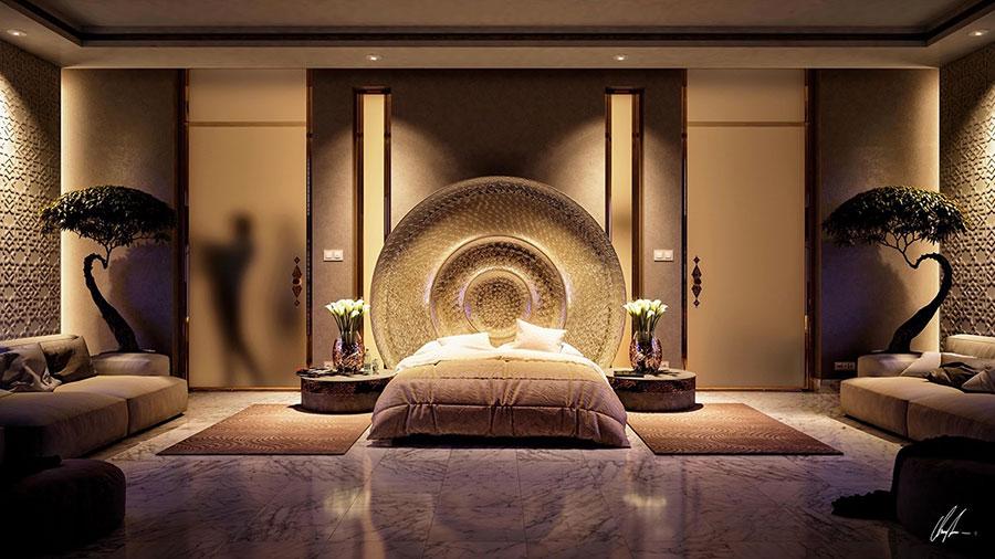Illuminazione Camera Da Letto Contemporanea : Illuminazione camera da letto soluzioni molto originali