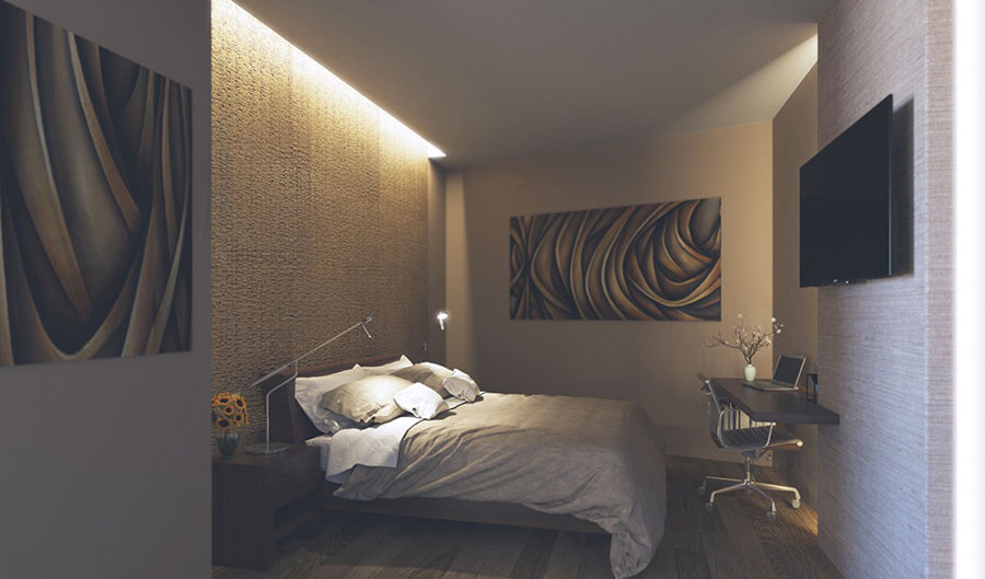 Idea per illuminare la camere da letto in maniera originale n.10