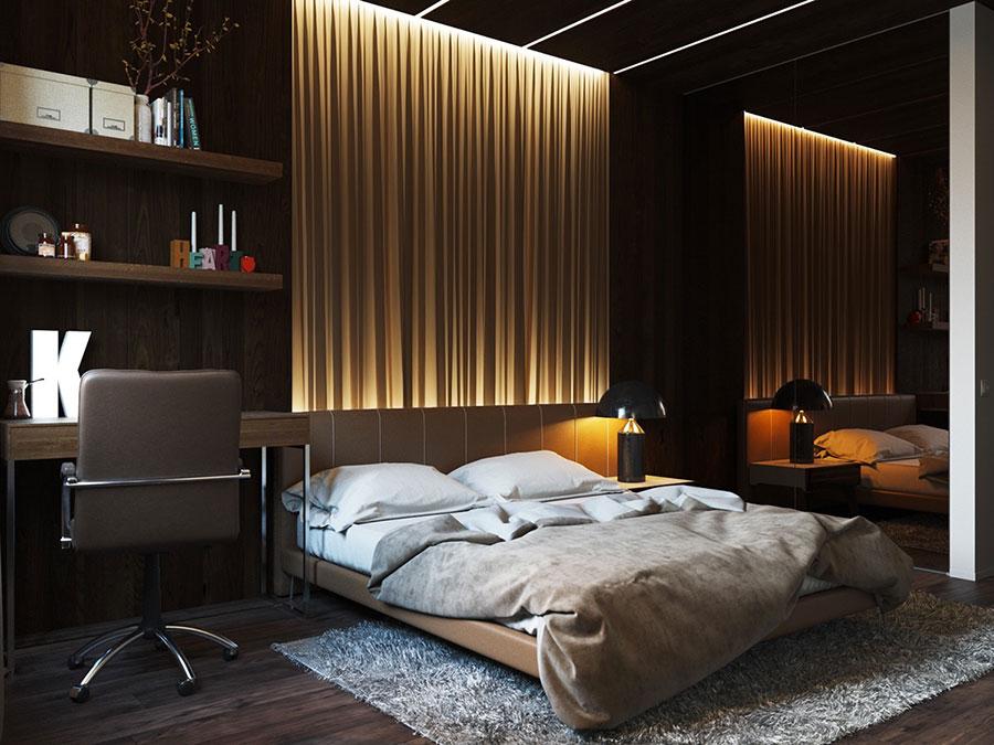 Idea per illuminare la camere da letto in maniera originale n.13