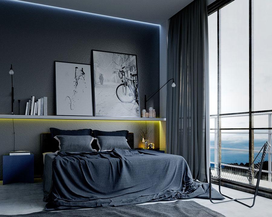 Idea per illuminare la camere da letto in maniera originale n.18
