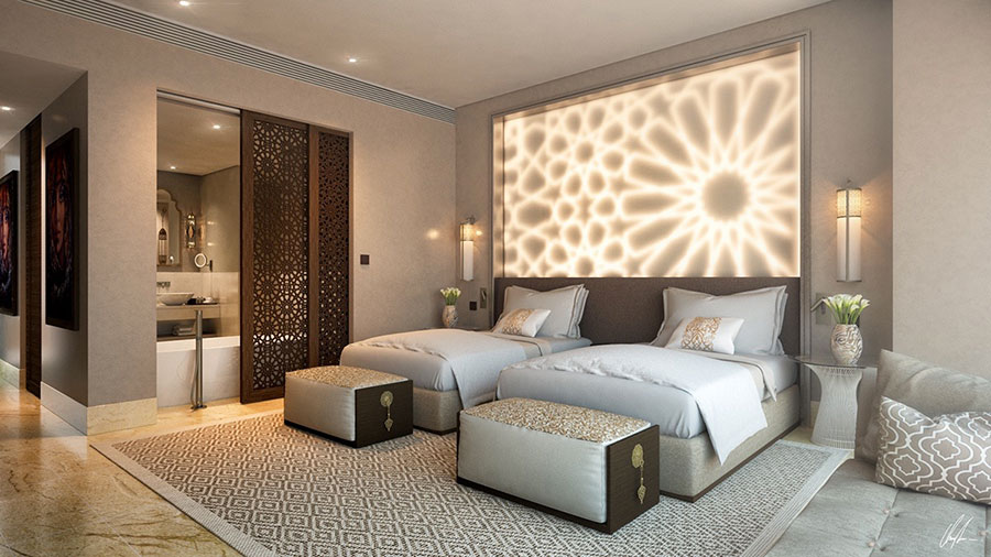 Idea per illuminare la camere da letto in maniera originale n.19
