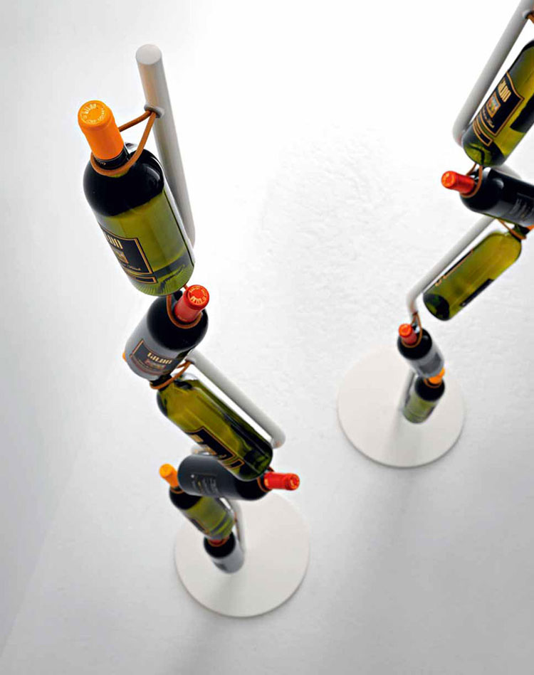 Modello di portabottiglie di design n.11