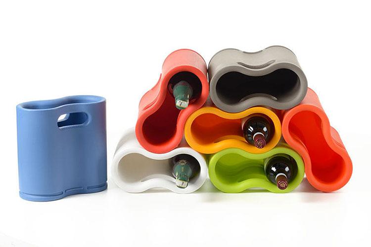 Modello di portabottiglie di design n.13