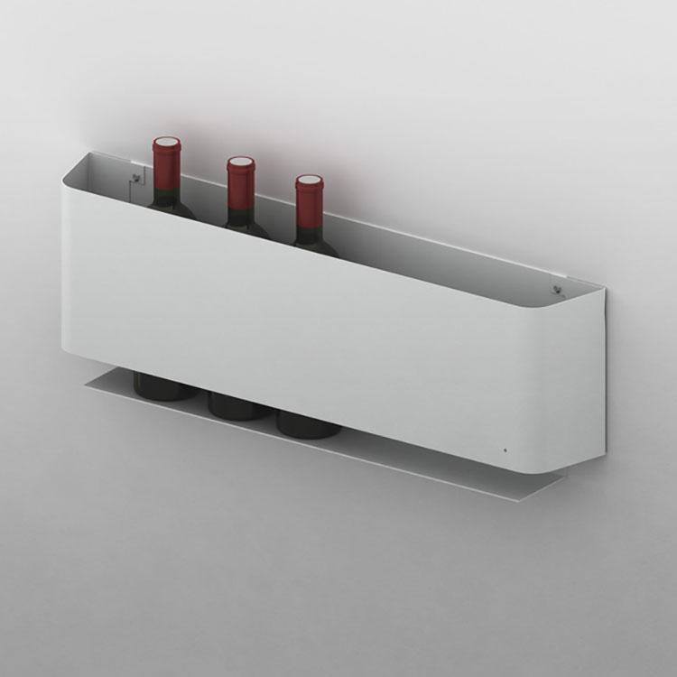 Modello di portabottiglie di design n.17