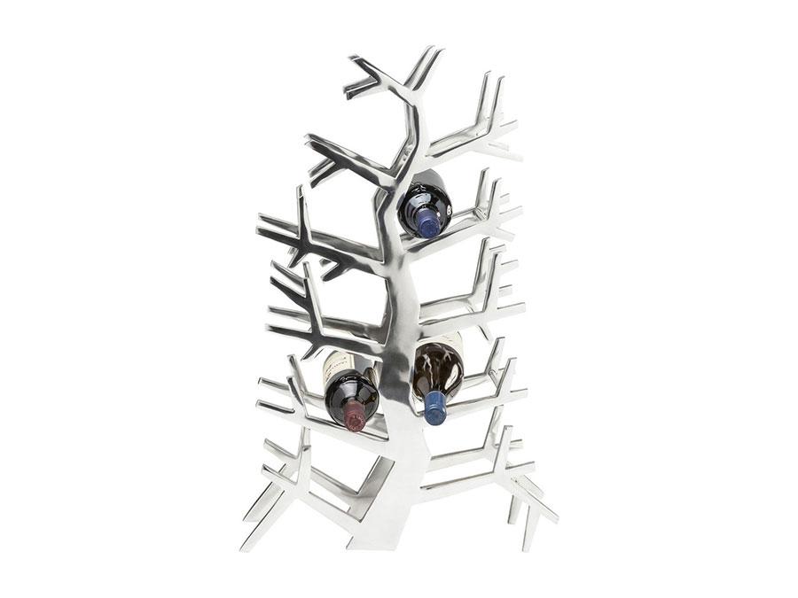 Modello di portabottiglie di design da tavolo n.01
