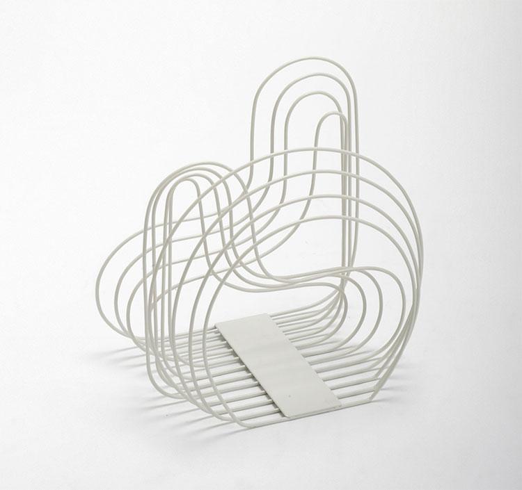 Modello di portariviste dal design moderno n.08