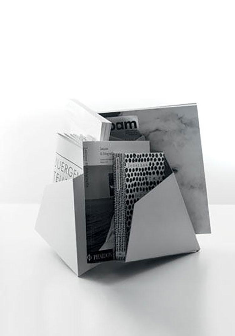 Modello di portariviste dal design moderno n.11