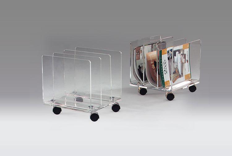 Modello di portariviste dal design moderno n.19