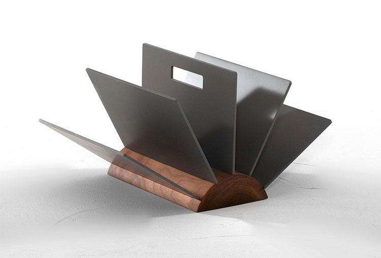 Modello di portariviste dal design moderno n.34