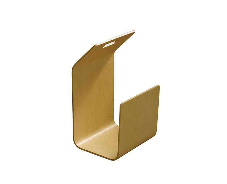 Modello di portariviste in legno moderno n.01