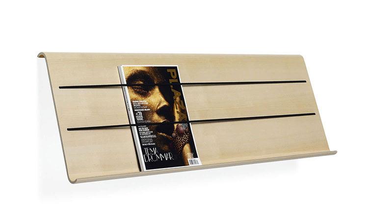 Modello di portariviste in legno moderno n.11