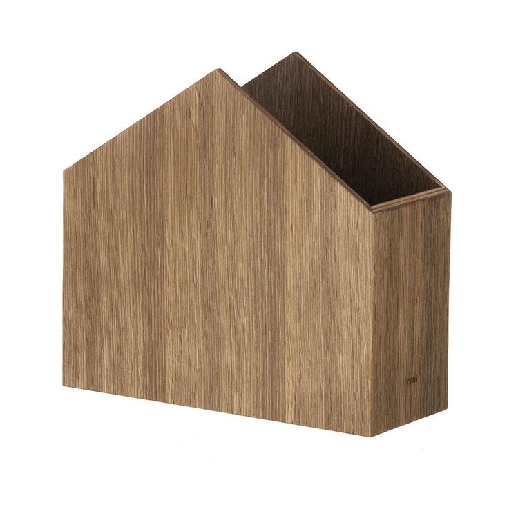 Modello di portariviste in legno moderno n.16