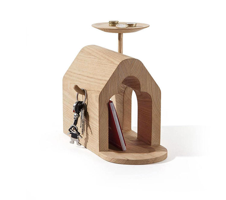 Modello di portariviste in legno moderno n.20