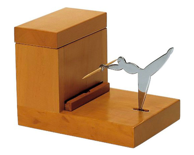 Modello di portastuzzicadenti originale e divertente n.25