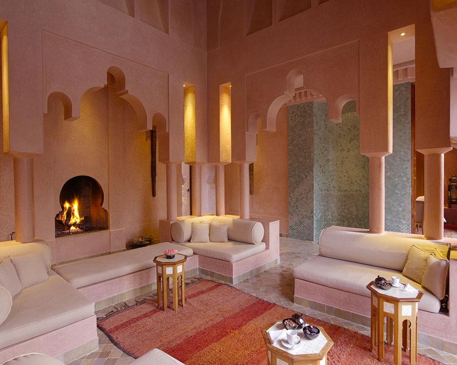 Idee per arredare un salotto marocchino n.02