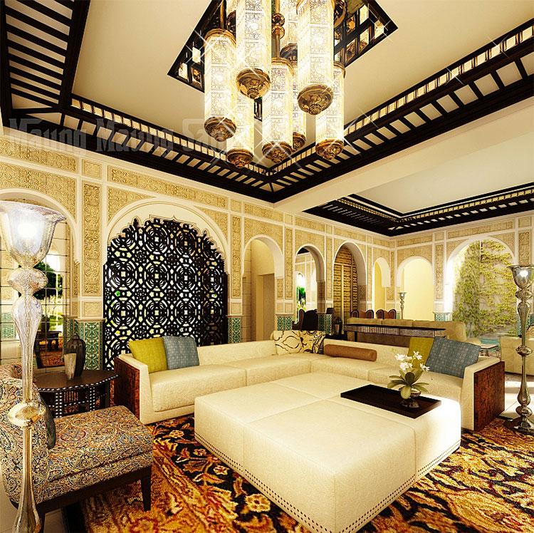 Idee per arredare un salotto marocchino n.03