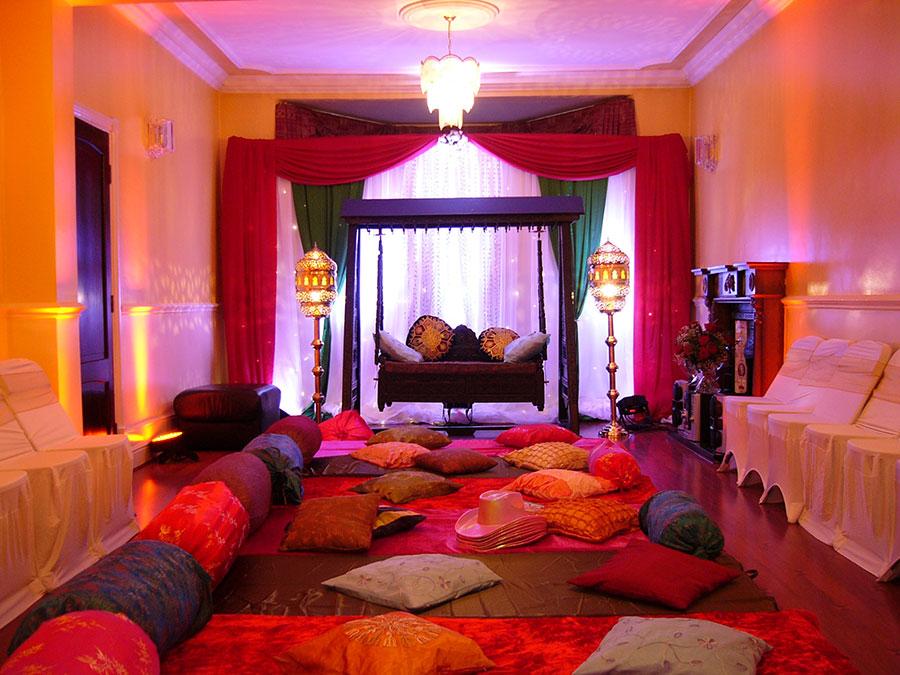 Idee per arredare un salotto marocchino n.05