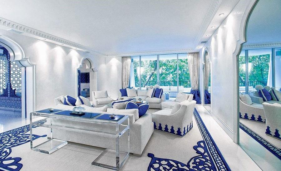 Idee per arredare un salotto marocchino n.06