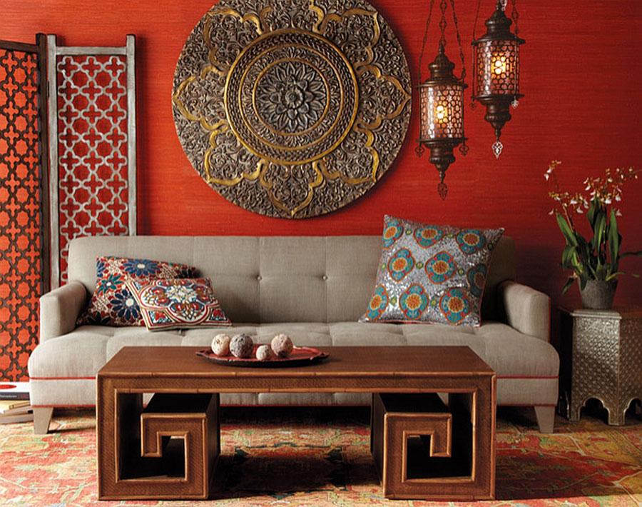 Idee per arredare un salotto marocchino n.07
