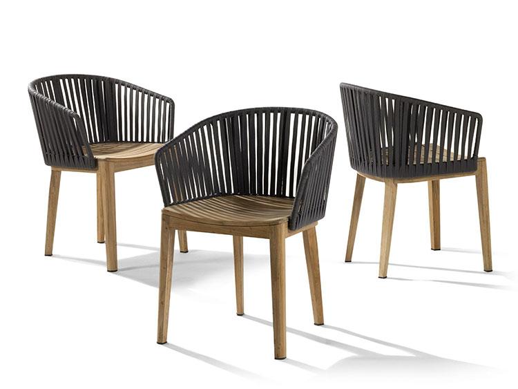 Poltrone Per Esterno Plastica.Sedie Da Giardino In Plastica Dal Design Moderno Mondodesign It