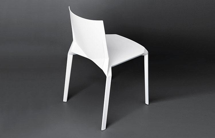 Sedie da esterno moderne in plastica n.05