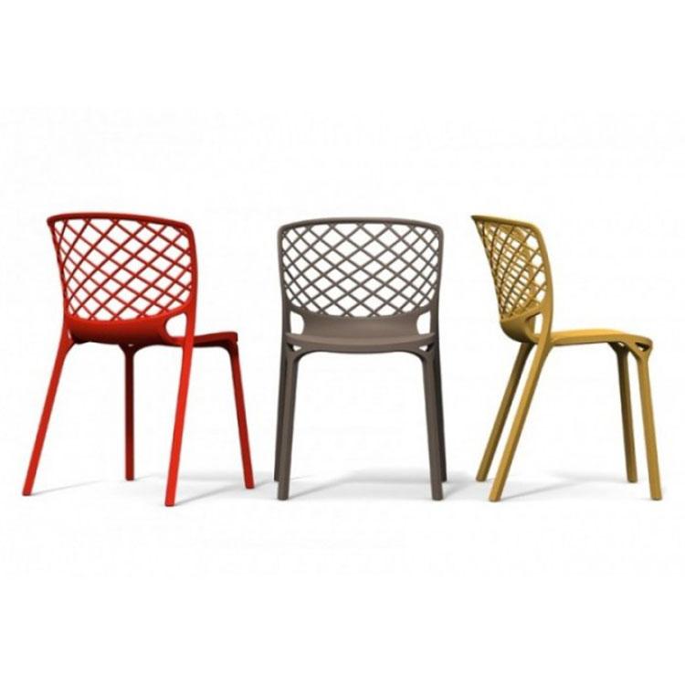 Sedie In Pvc Da Giardino.Sedie Da Giardino In Plastica Dal Design Moderno