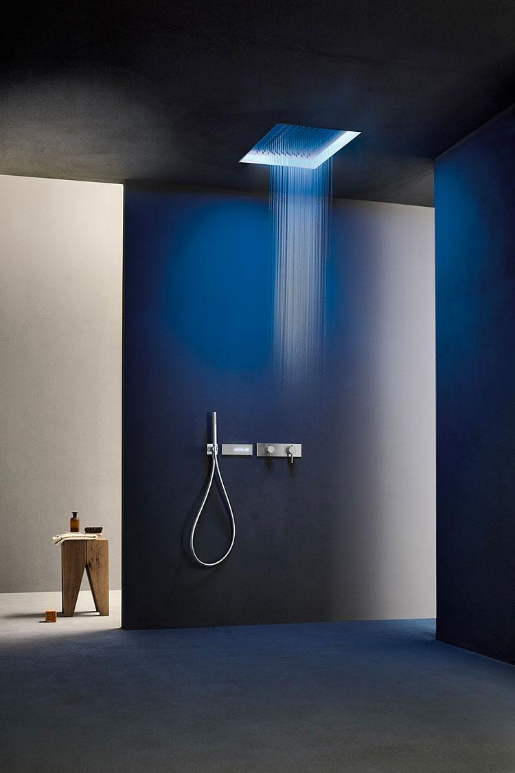 Soffione doccia con cromoterapia Fantini Rubinetti n.02