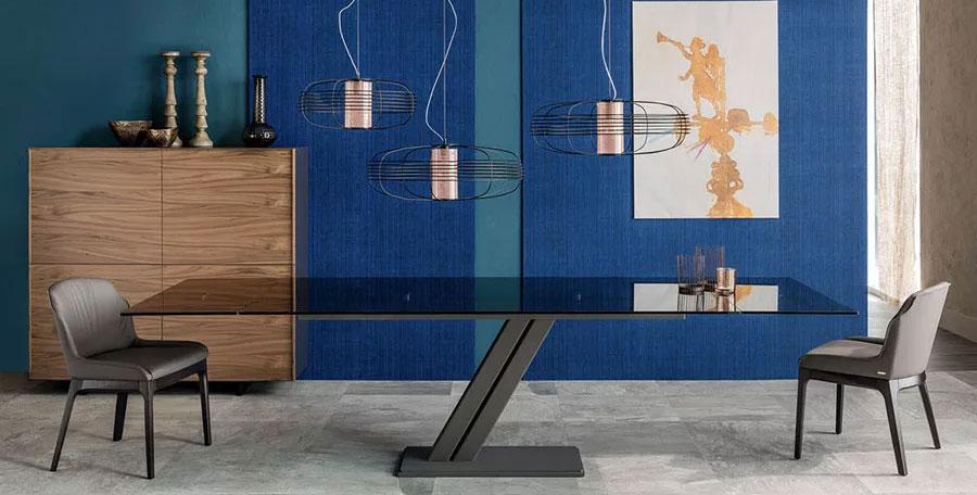 Modelli di tavoli in vetro allungabili