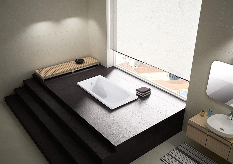 Modello di vasca da bagno piccolo e moderna n.05