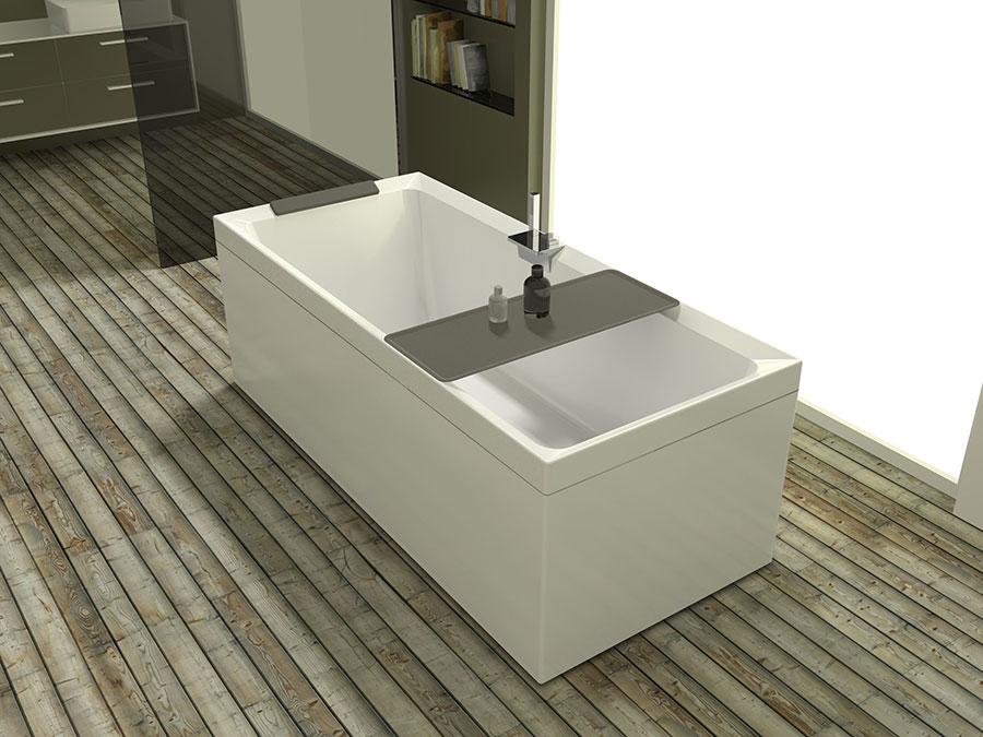 Modello di vasca da bagno piccolo e moderna n.06
