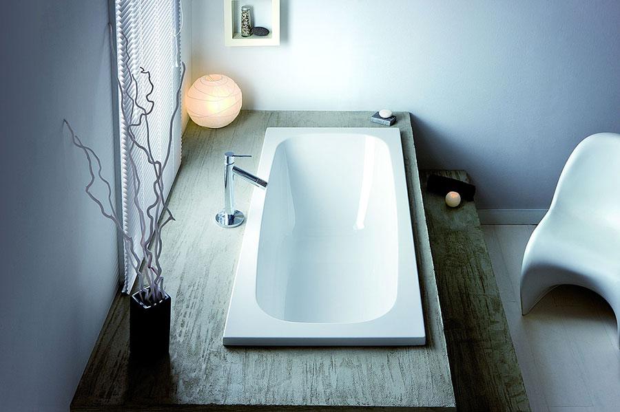 Modello di vasca da bagno piccolo e moderna n.07