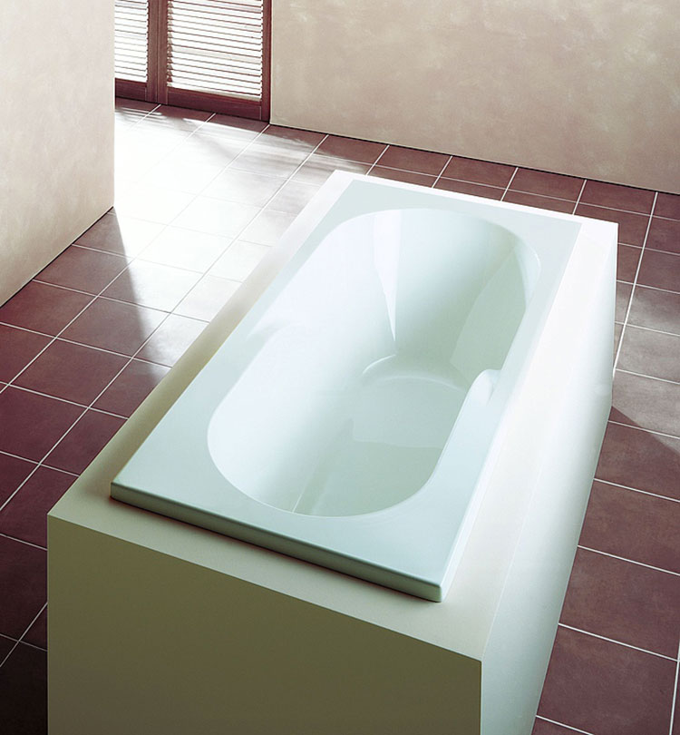 Modello di vasca da bagno piccolo e moderna n.09