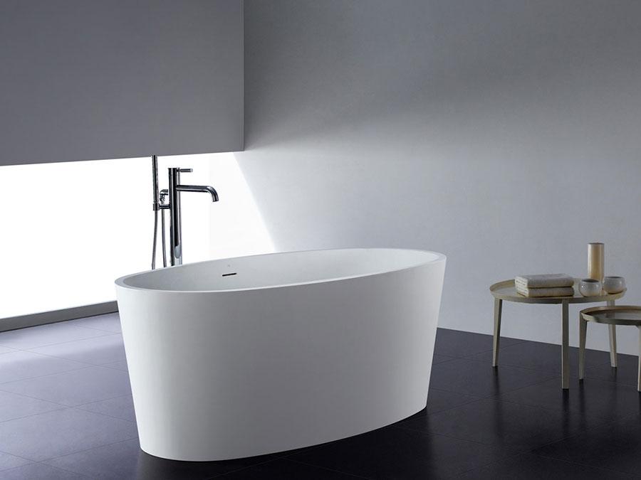 Modello di vasca da bagno piccolo e moderna n.12